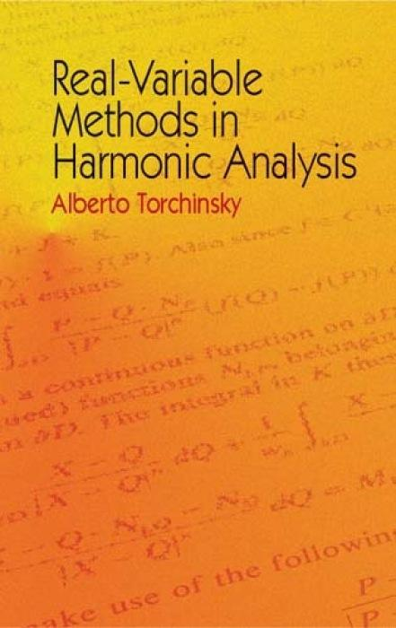 Real-Variable Methods in Harmonic Analysis als Taschenbuch
