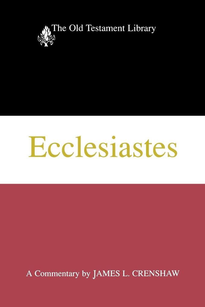 Ecclesiastes als Taschenbuch