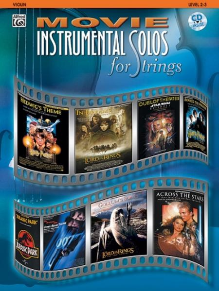Movie Instrumental Solos for Strings als Buch