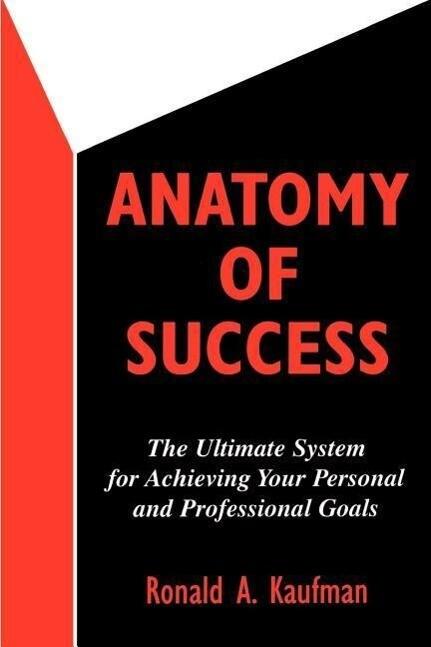 Anatomy of Success als Taschenbuch
