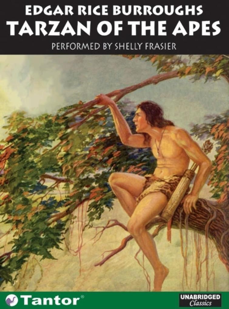 Tarzan of the Apes als Hörbuch