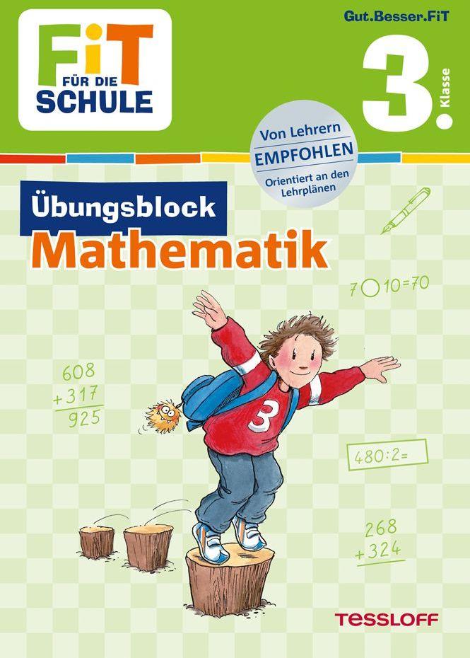 Fit für die Schule: Übungsblock Mathematik 3. Klasse als Buch