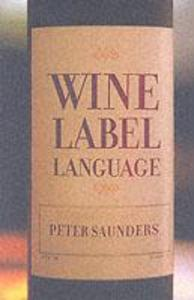 Wine Label Language als Taschenbuch