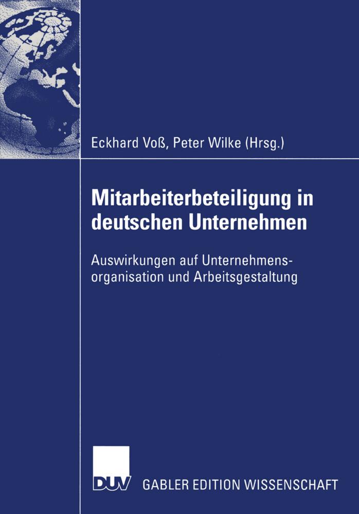 Mitarbeiterbeteiligung in deutschen Unternehmen als Buch (kartoniert)