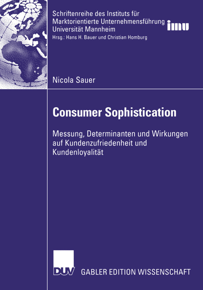 Consumer Sophistication als Buch
