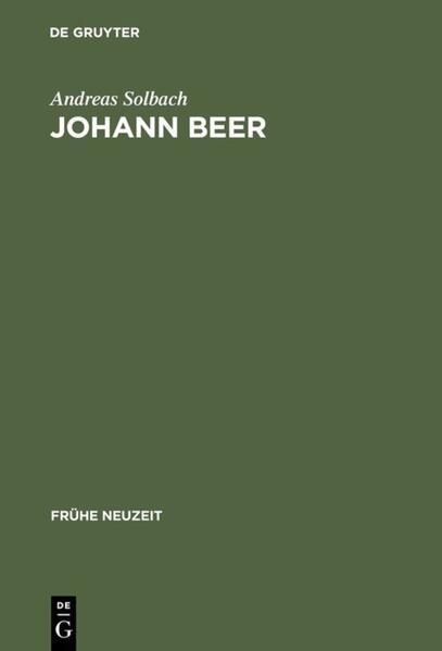Johann Beer als Buch
