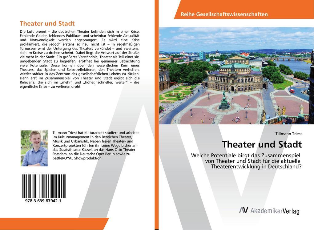 Theater und Stadt als Buch von Tillmann Triest