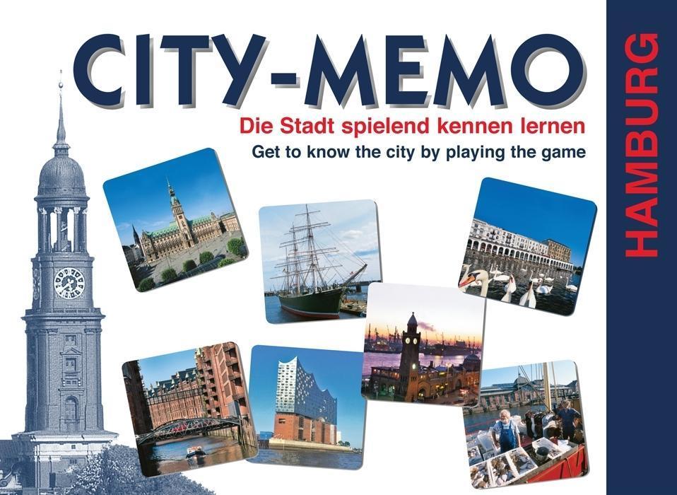 City-Memo. Das Hamburg Spiel als Spielwaren