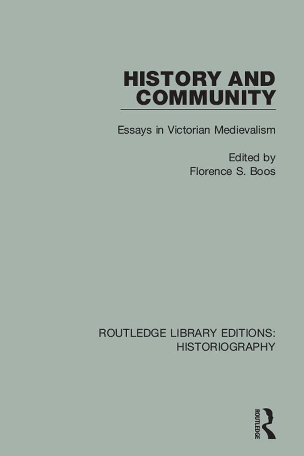 History and Community als eBook Download von