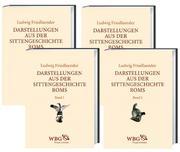 Darstellungen aus der Sittengeschichte Roms. 4 Bände