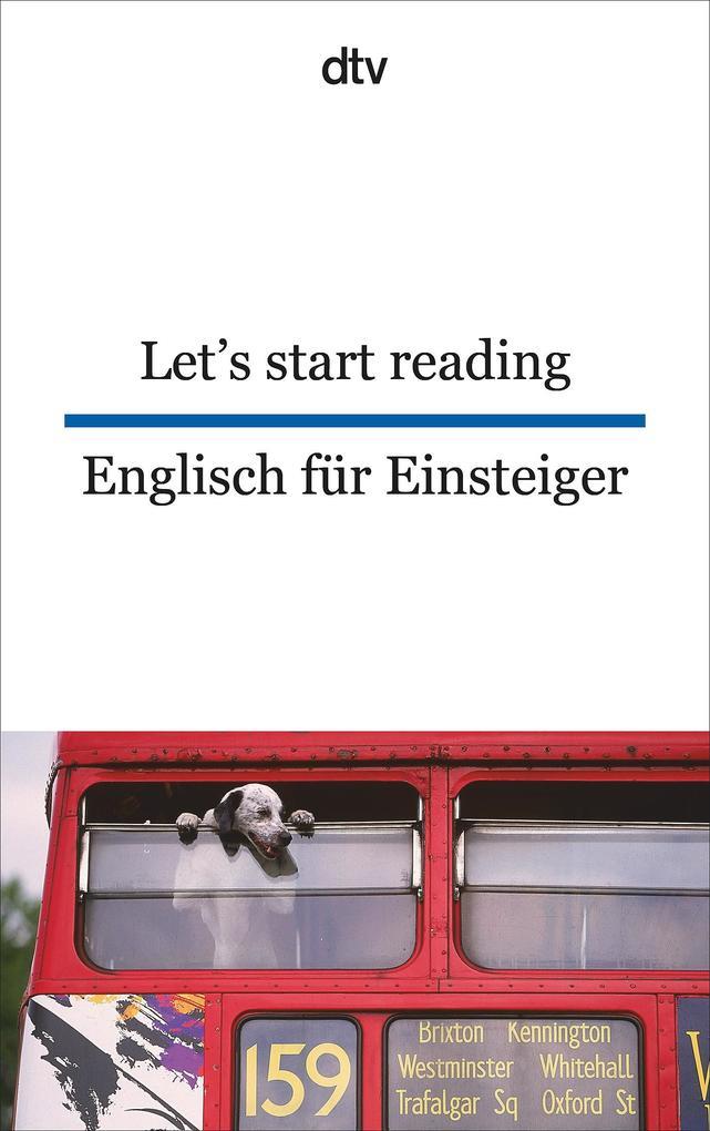 Let's start reading Englisch für Einsteiger als Taschenbuch