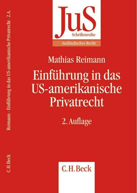 Einführung in das US-amerikanische Privatrecht als Buch