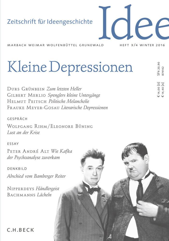 Zeitschrift für Ideengeschichte. H.10/4 als Buch