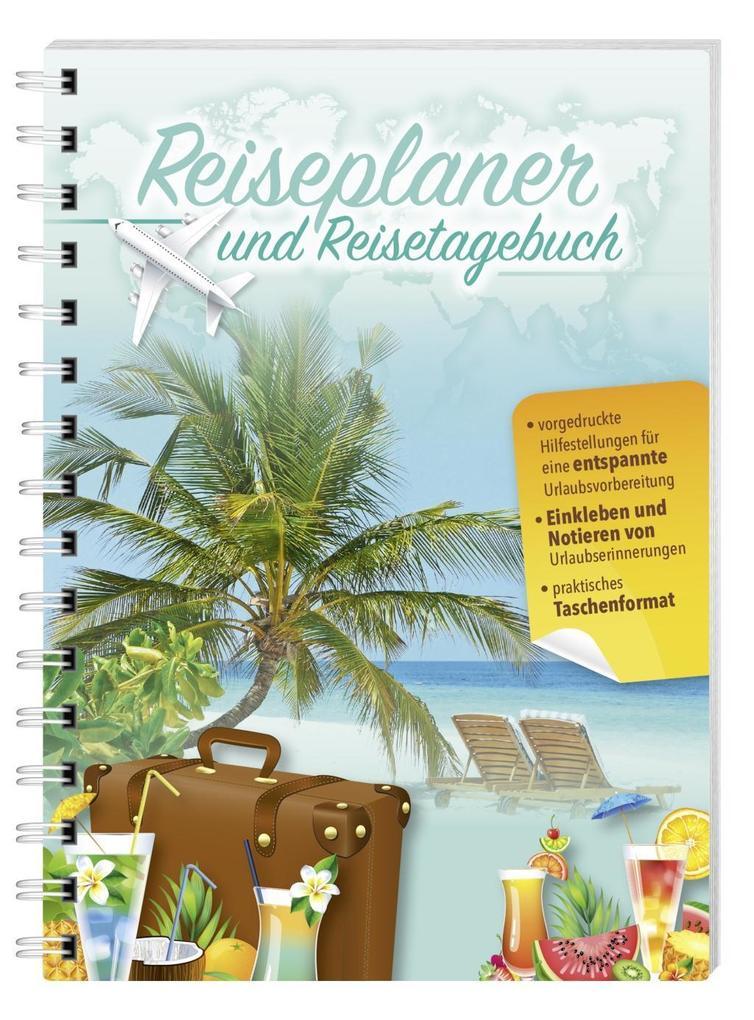 Reiseplaner und Reisetagebuch als Buch