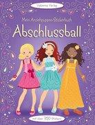Mein Anziehpuppen-Stickerbuch: Abschlussball