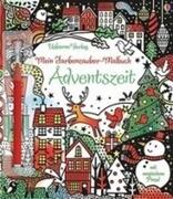 Mein Farbenzauber-Malbuch: Adventszeit