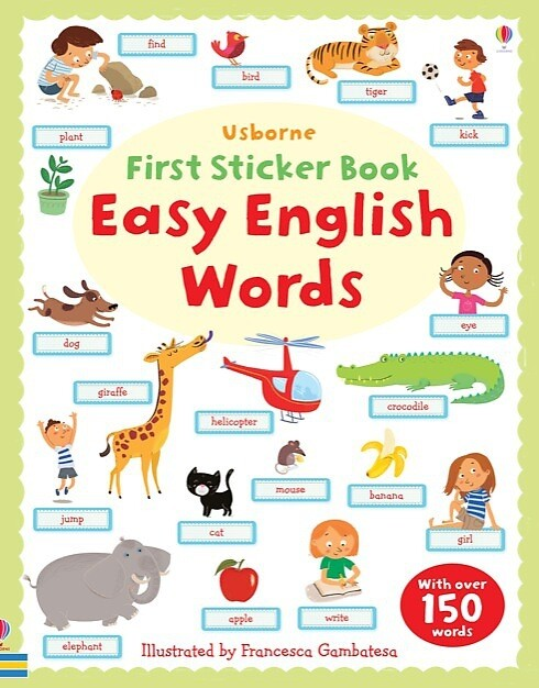First Sticker Book: Easy English Words als Buch...