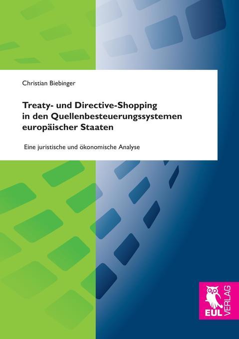 Treaty- und Directive-Shopping in den Quellenbe...