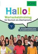 PONS Hallo! Wortschatztraining für Deutsch als Zweitsprache