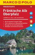 MARCO POLO Freizeitkarte 34 Fränkische Alb, Oberpfalz 1 : 100 000
