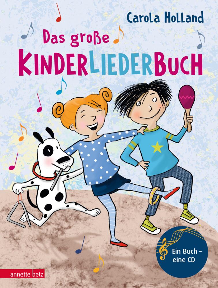 Das große Kinderliederbuch mit CD als Buch