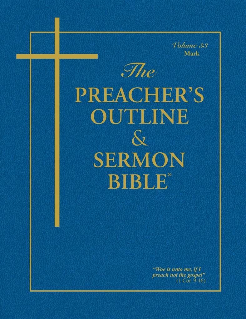 The Preacher's Outline & Sermon Bible - Vol. 33 als Taschenbuch