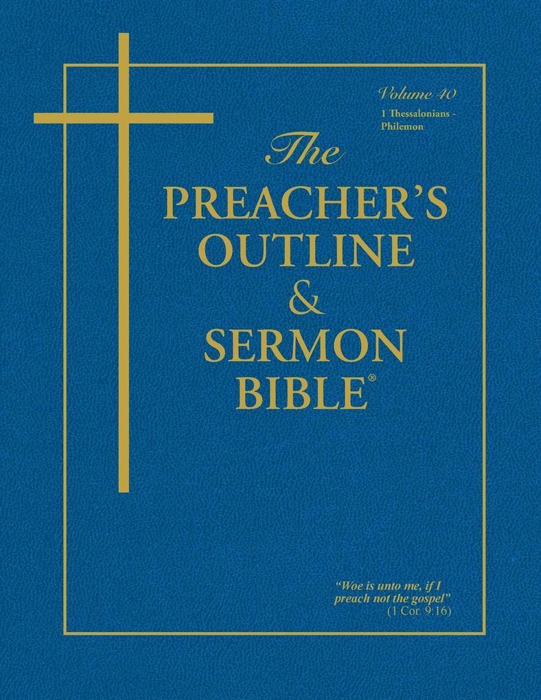 The Preacher's Outline & Sermon Bible als Taschenbuch