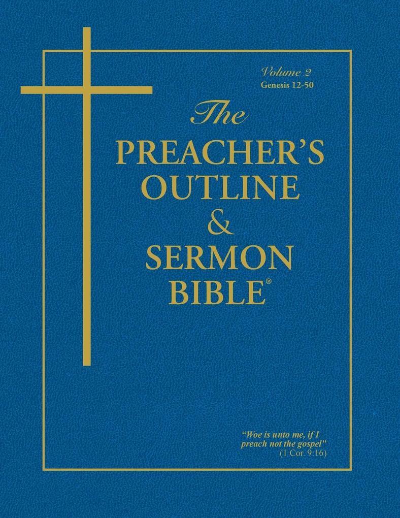The Preacher's Outline & Sermon Bible - Vol. 2 als Taschenbuch