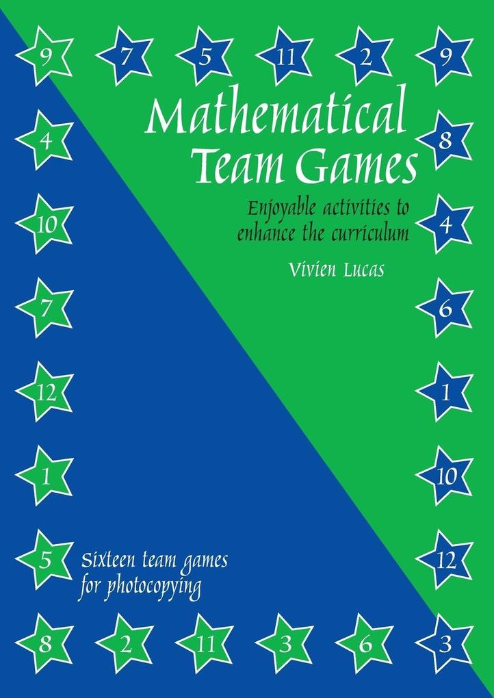 Mathematical Team Games als Taschenbuch