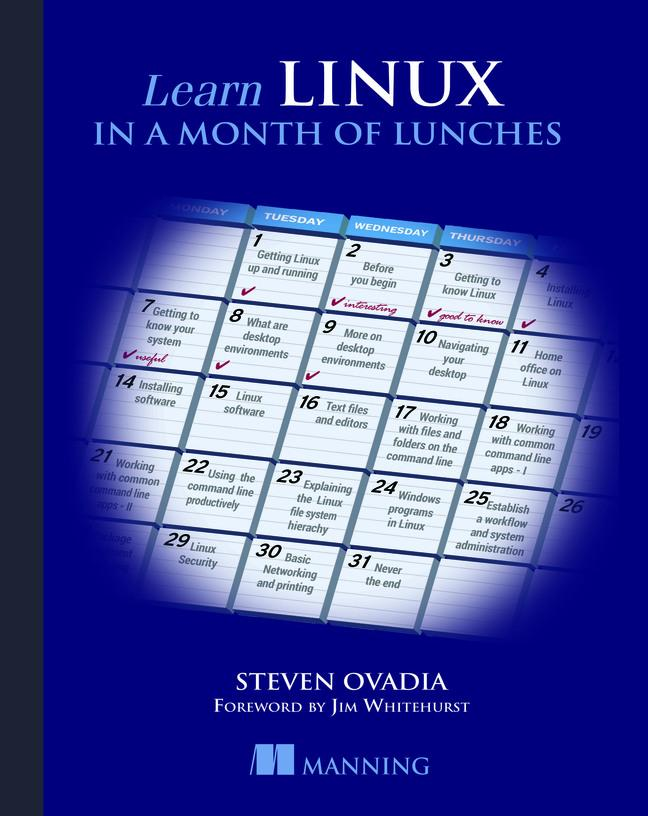 Learn Linux in a Month of Lunches als Buch von ...