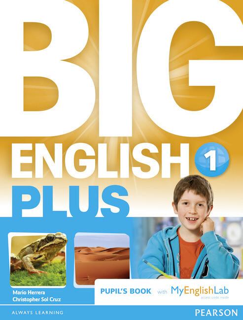 Big English Plus 1 Pupil´s Book with MyEnglishL...