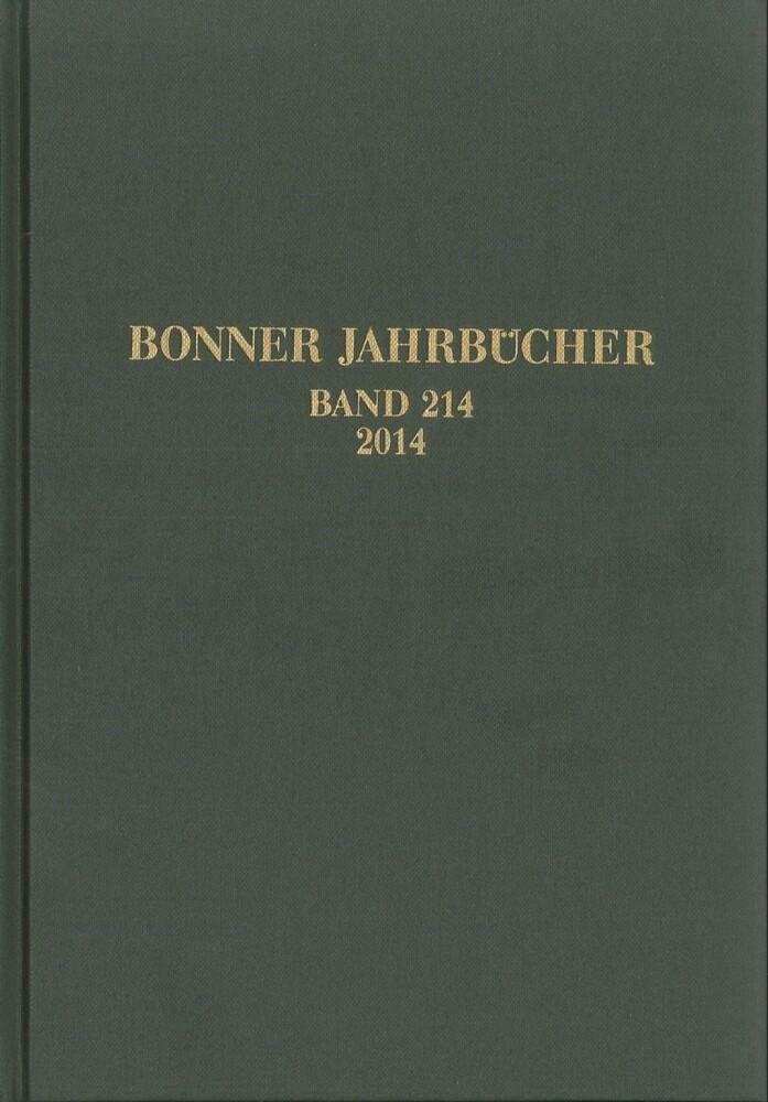 Bonner Jahrbücher 2014 als Buch von