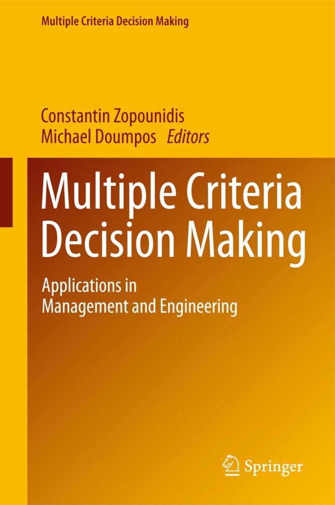 Multiple Criteria Decision Making als Buch von