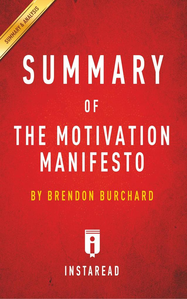 Summary of The Motivation Manifesto als Buch vo...