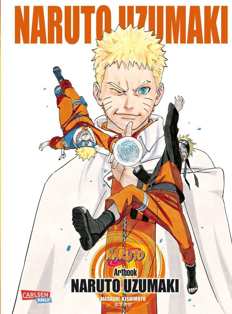Naruto Uzumaki als Buch von Masashi Kishimoto