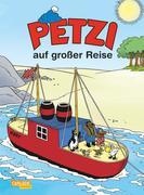 Petzi auf großer Reise