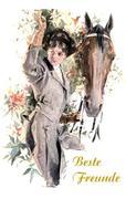 Beste Freunde (Pferde Notizbuch)