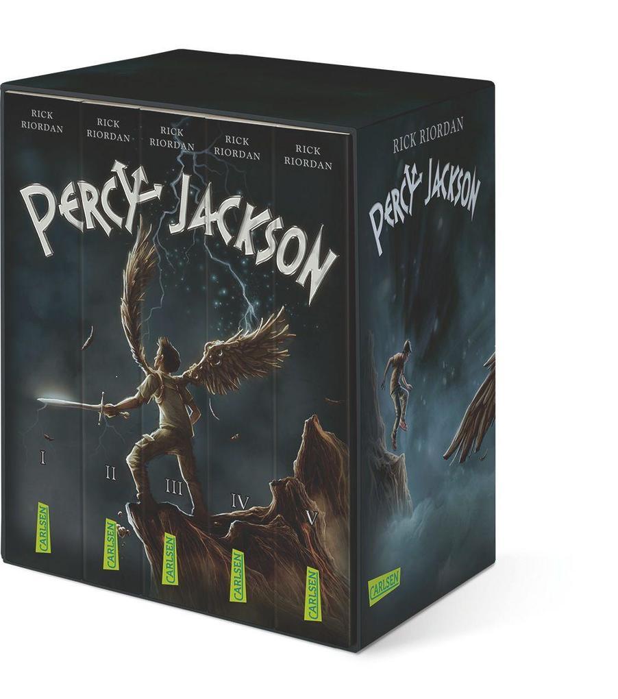 Percy-Jackson-Taschenbuchschuber als Taschenbuch