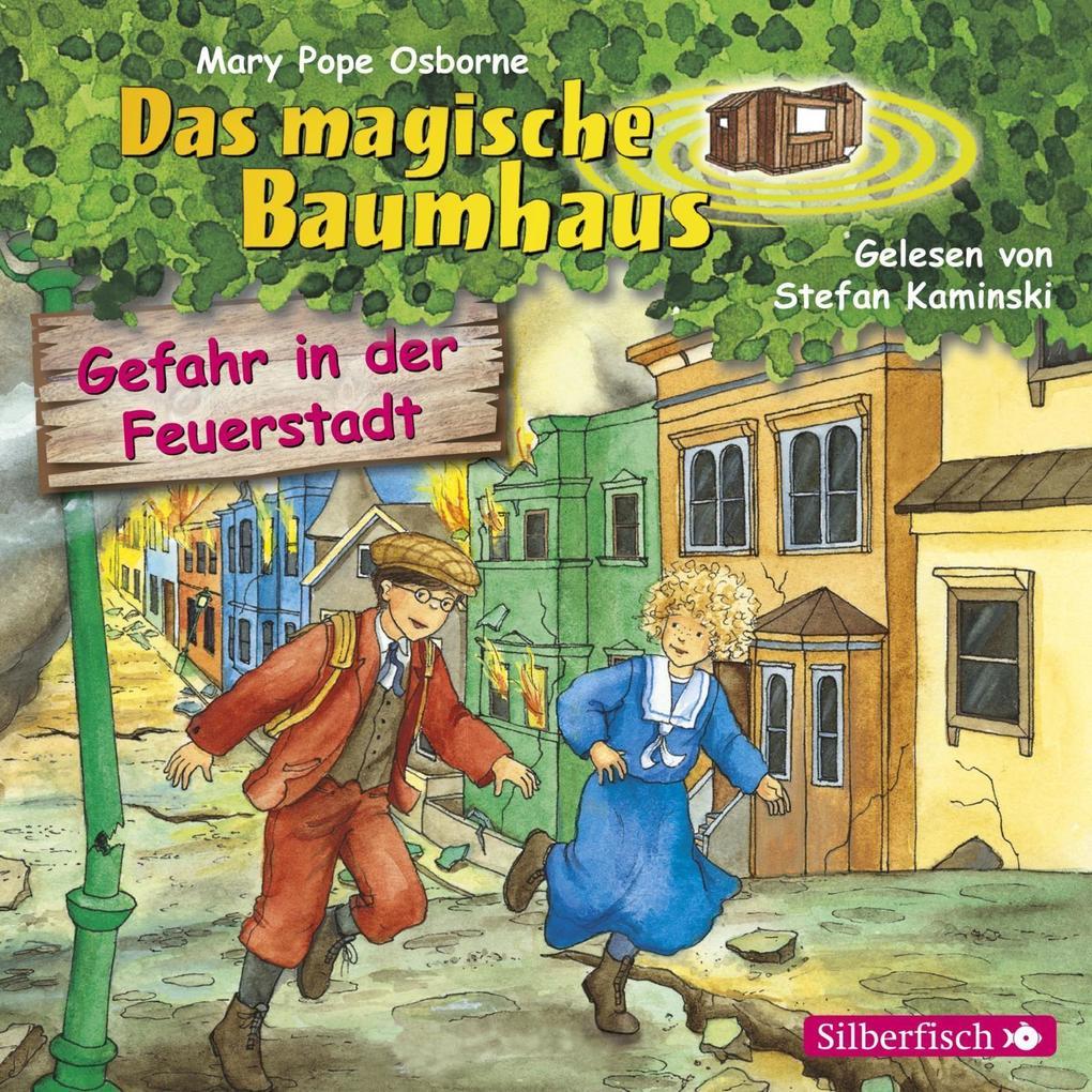 Gefahr in der Feuerstadt als Hörbuch CD von Mar...