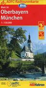 ADFC-Radtourenkarte 26 Oberbayern München