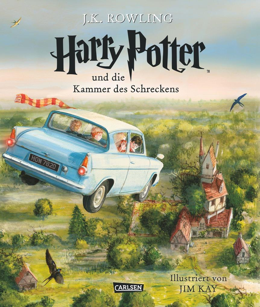 Harry Potter 2 und die Kammer des Schreckens. Schmuckausgabe als Buch