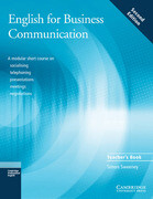 English for Business Communication. Teacher's Book