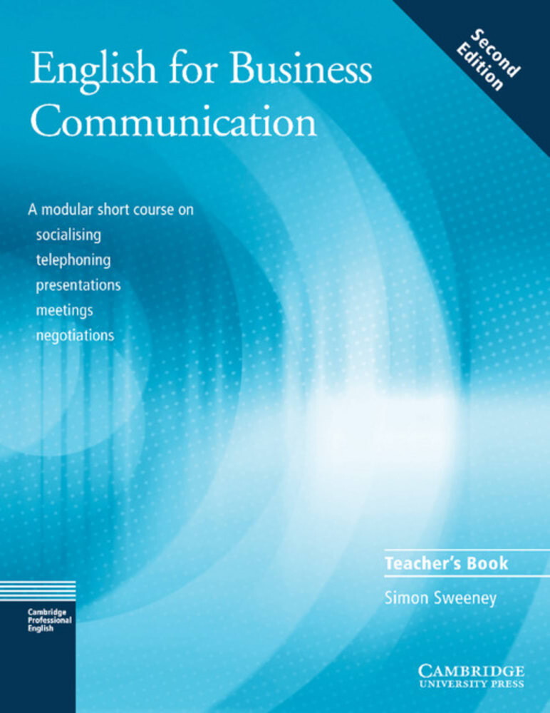 English for Business Communication. Teacher's Book als Buch