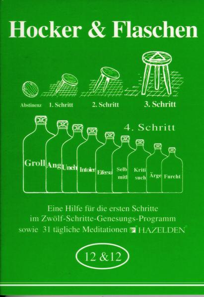 Hocker und Flaschen als Buch