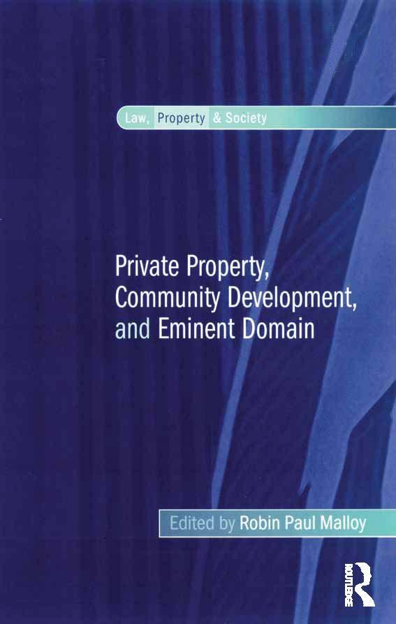 Private Property, Community Development, and Em...