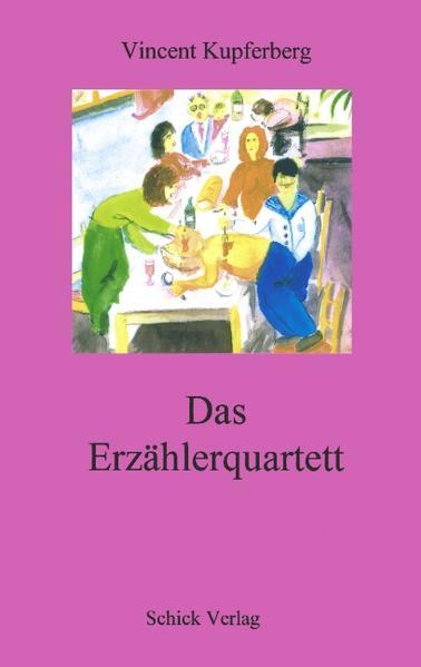 Das Erzählerquartett als Buch