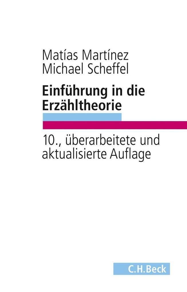 Einführung in die Erzähltheorie als Buch