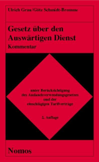 Gesetz über den Auswärtigen Dienst. Kommentar als Buch