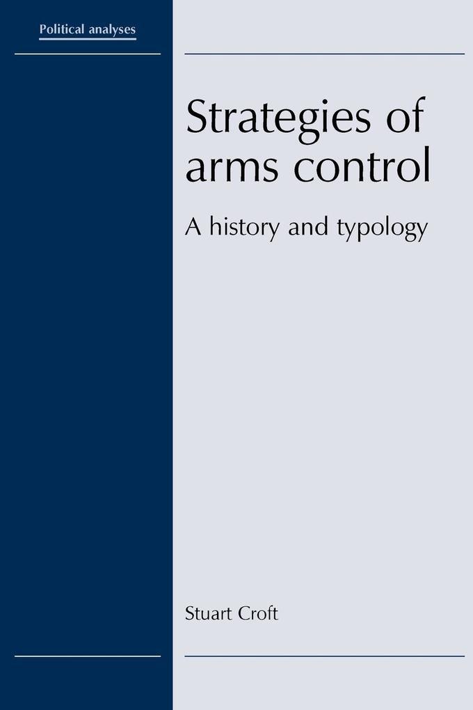Strategies of Arms Control als Taschenbuch