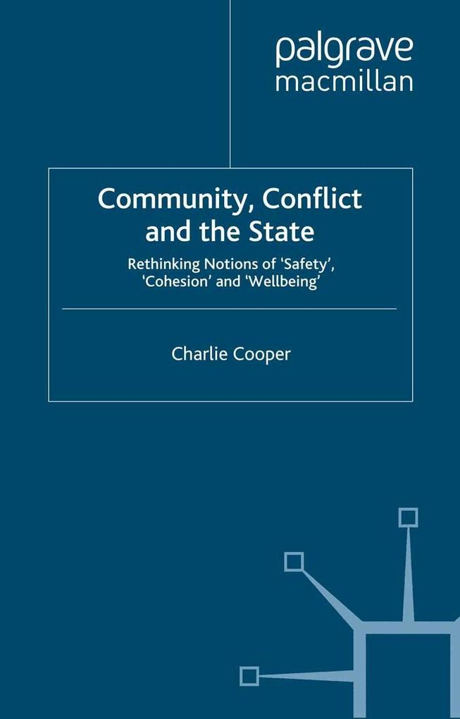 Community, Conflict and the State als eBook Dow...